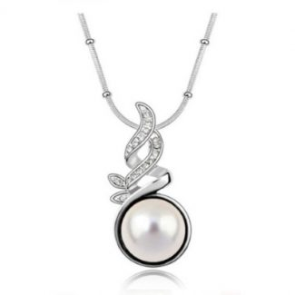 A Pearl Chain Necklace